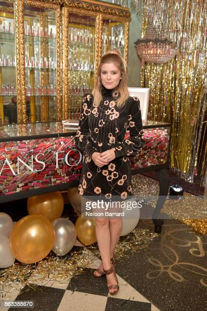 Actress Kate Mara at Physicians Formula's 80th Anniversary at Beauty Essex on October 19 2017 in Los Angeles California