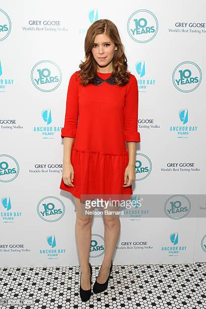 Actress Kate Mara attends '10 Years' brunch reunion event hosted by GREY GOOSE Vodka And Anchor Bay Films at Hotel Chantelle on September 16 2012 in...