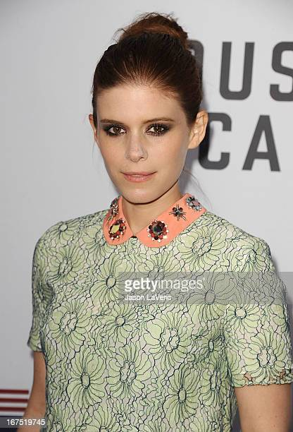 Actress Kate Mara attends a QA for 'House Of Cards' at Leonard H Goldenson Theatre on April 25 2013 in North Hollywood California