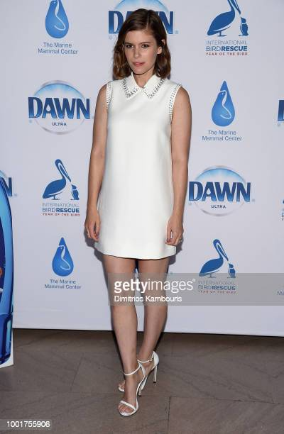 Actress Kate Mara attends Dawn's Wildlife Initiative at Grand Central Station on July 19 2018 in New York City