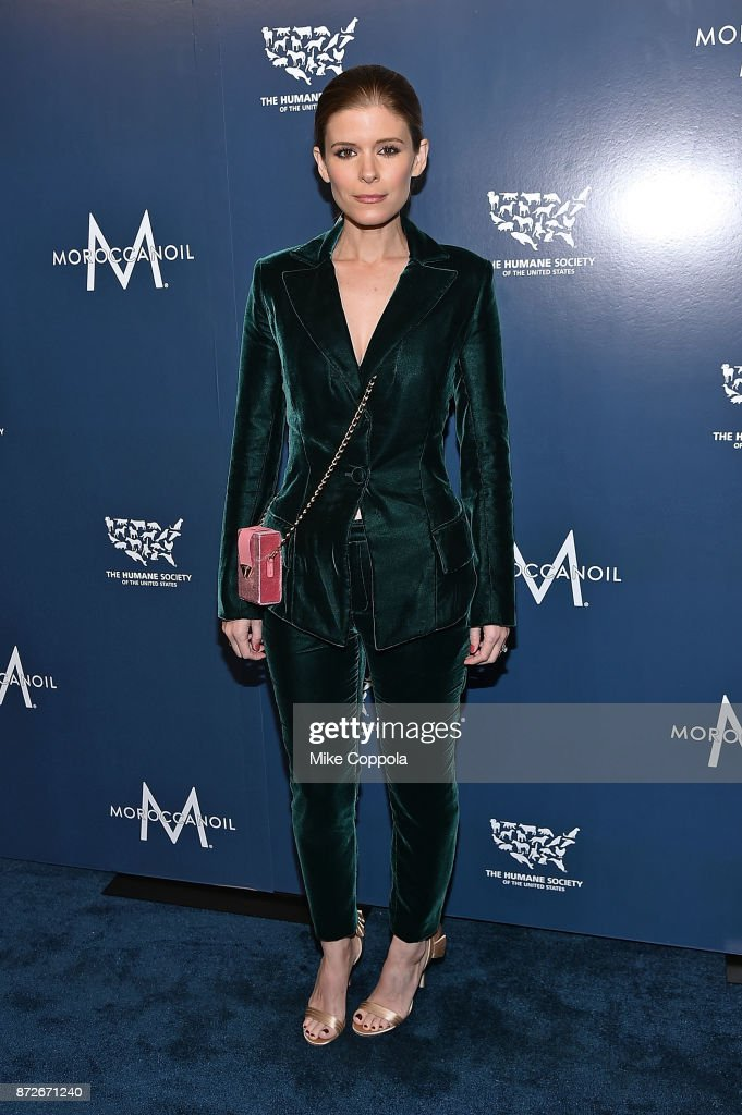 Actress Kate Mara attends the 2017 Humane Society of the United States to the Rescue! New York Gala at Cipriani 42nd Street on November 10, 2017 in New York City.