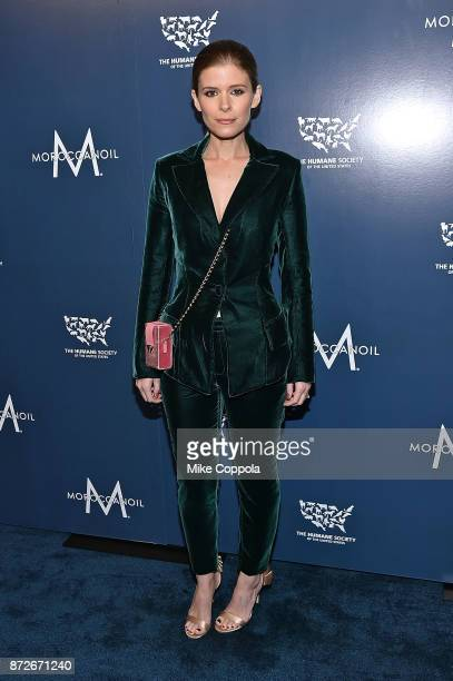 Actress Kate Mara attends the 2017 Humane Society of the United States to the Rescue New York Gala at Cipriani 42nd Street on November 10 2017 in New...