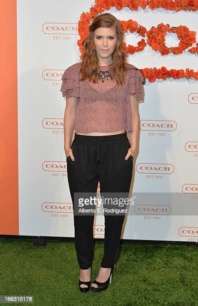 Actress Kate Mara attends the 3rd Annual Coach Evening to benefit Children's Defense Fund at Bad Robot on April 10 2013 in Santa Monica California