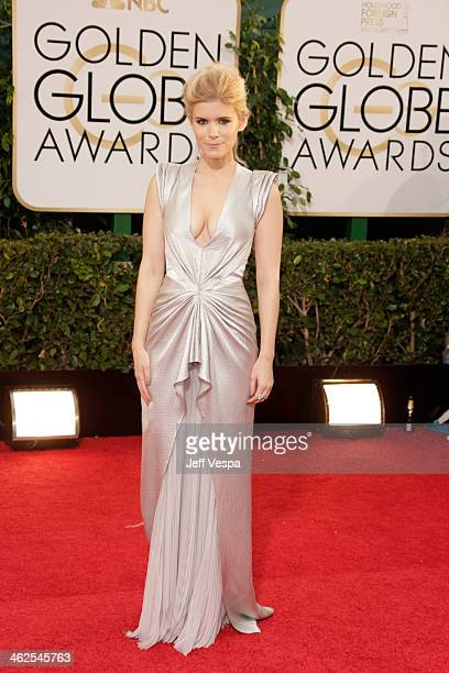 Actress Kate Mara attends the 71st Annual Golden Globe Awards held at The Beverly Hilton Hotel on January 12 2014 in Beverly Hills California
