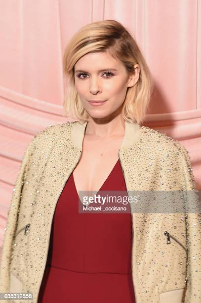 Actress Kate Mara attends the alice olivia by Stacey Bendet Fall 2017 Presentation at Highline Stages on February 14 2017 in New York City