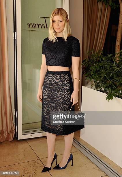 Actress Kate Mara attends the Dior Beauty Operation Smile Luncheon at Sunset Tower on January 8 2014 in West Hollywood California
