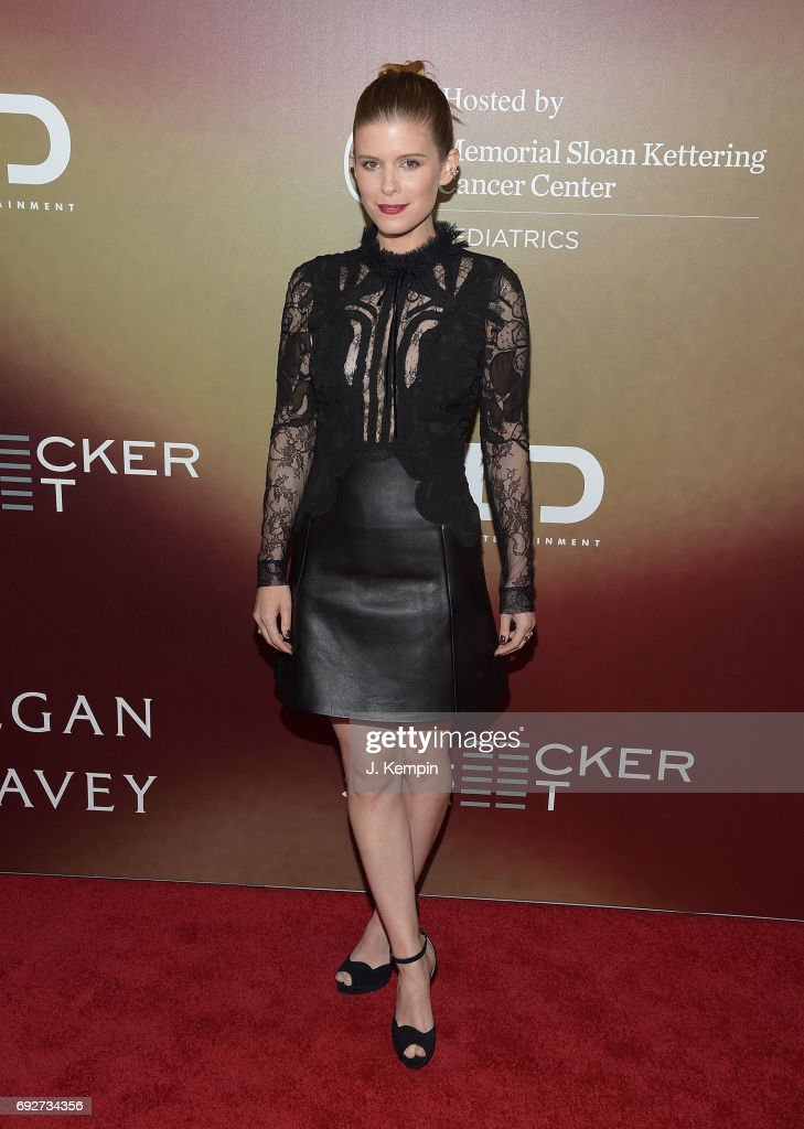 Actress Kate Mara attends the 'Megan Leavey' World Premiere at Yankee Stadium on June 5, 2017 in the Bronx borough of New York City.