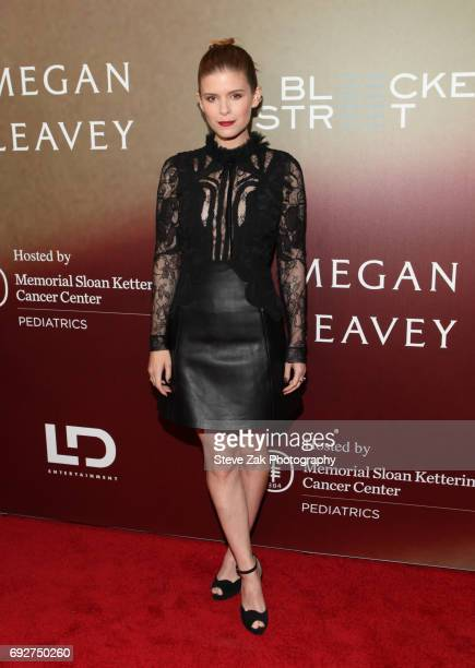 Actress Kate Mara attends the 'Megan Leavey' World Premiere at Yankee Stadium on June 5 2017 in New York City
