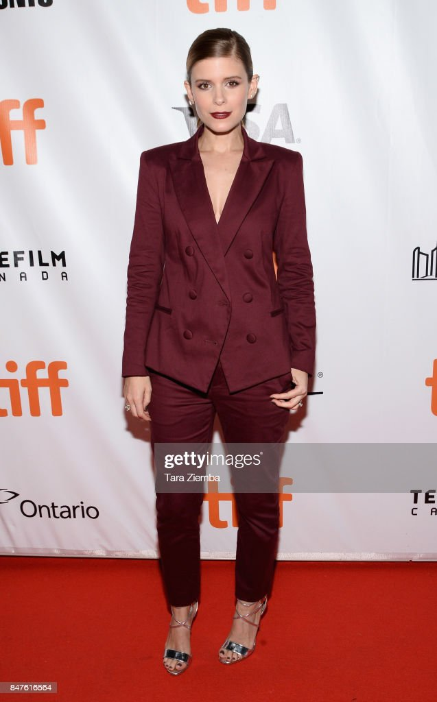 Actress Kate Mara attends the 'My Days Of Mercy' premiere during the 2017 Toronto International Film Festival at Roy Thomson Hall on September 15, 2017 in Toronto, Canada.