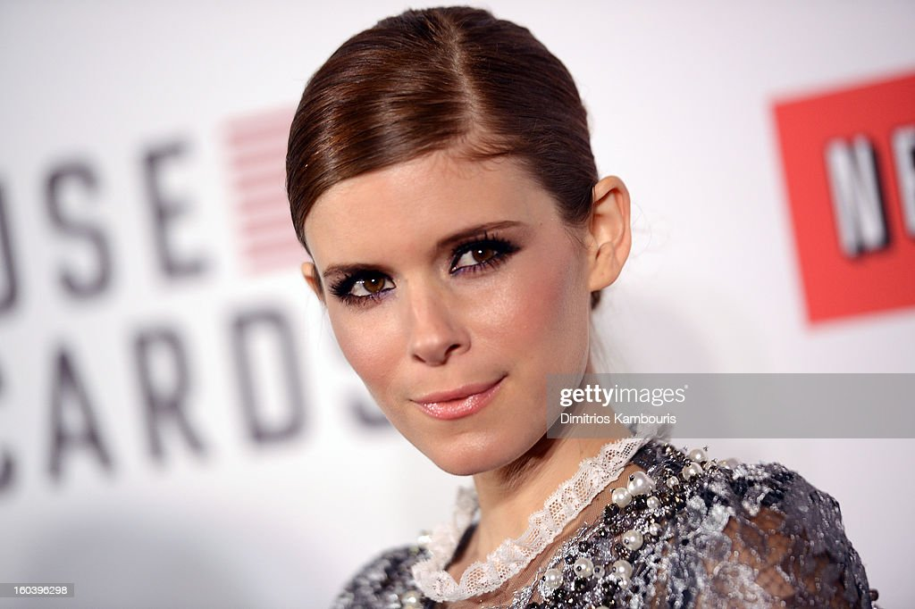 Actress Kate Mara attends the Netflix's 'House Of Cards' New York Premiere at Alice Tully Hall on January 30, 2013 in New York City.