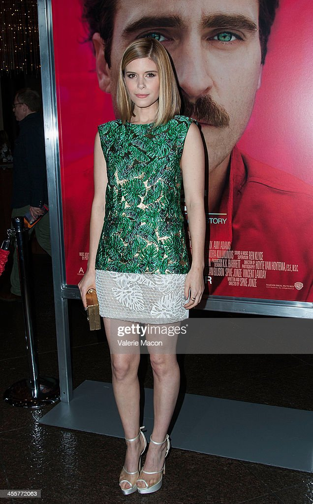 Actress Kate Mara attends the premiere of Warner Bros. Pictures' 'Her.' at DGA Theater on December 12, 2013 in Los Angeles, California.