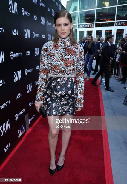 Actress Kate Mara attends the LA Special Screening Of A24's 'Skin' at ArcLight Hollywood on July 11, 2019 in Hollywood, California.