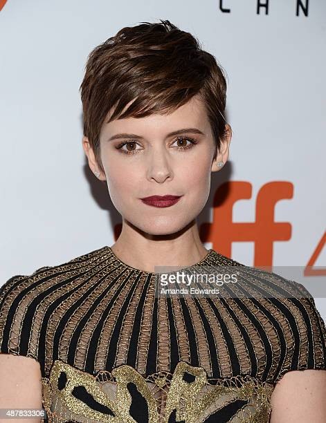 Actress Kate Mara attends the 'The Martian' premiere during the 2015 Toronto International Film Festival at Roy Thomson Hall on September 11 2015 in...
