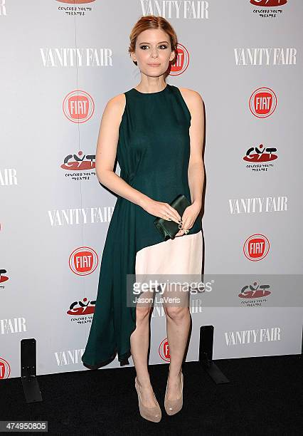 Actress Kate Mara attends the Vanity Fair Campaign Young Hollywood party at No Vacancy on February 25 2014 in Los Angeles California
