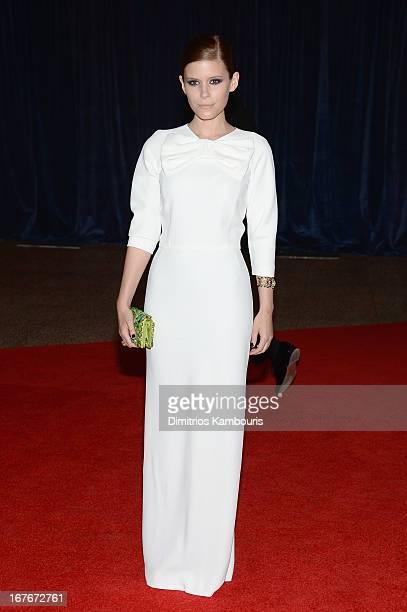 Actress Kate Mara attends the White House Correspondents' Association Dinner at the Washington Hilton on April 27 2013 in Washington DC