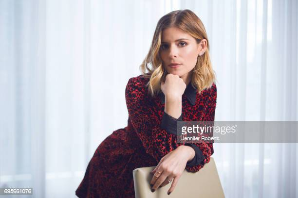 Actress Kate Mara is photographed for The Globe and Mail on June 2 2017 in Toronto Ontario