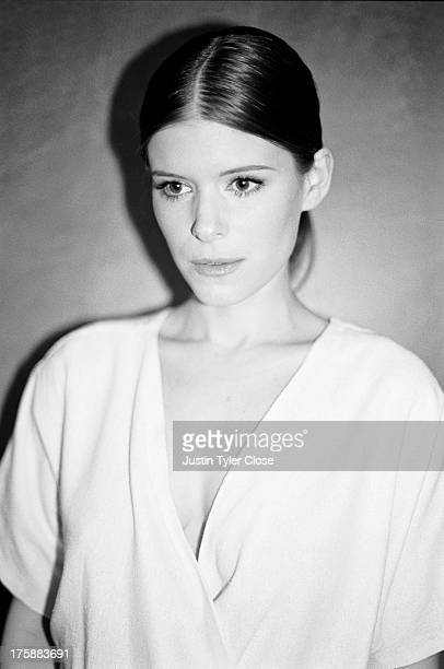 Actress Kate Mara is photographed for The Lab Magazine on April 1 2013 in Los Angeles California PUBLISHED IMAGE