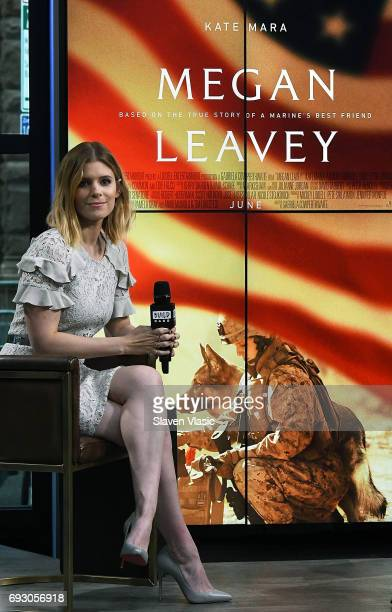 Actress Kate Mara visits Build Series to talk about the truelife story captured in her film Megan Leavey at Build Studio on June 6 2017 in New York...