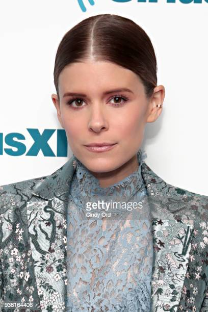 Actress Kate Mara visits the SiriusXM Studios on March 26 2018 in New York City