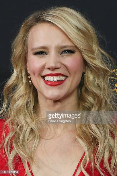 Actress Kate McKinnon arrives at the 68th Annual Primetime Emmy Awards at the Microsoft Theater on September 18 2016 in Los Angeles California