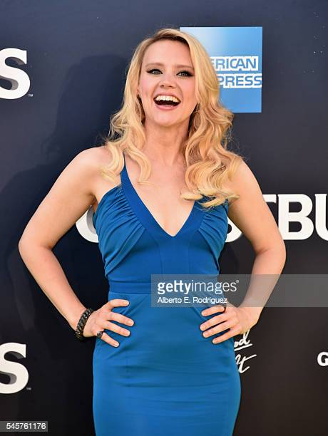 Actress Kate McKinnon arrives at the Premiere of Sony Pictures' 'Ghostbusters' at TCL Chinese Theatre on July 9 2016 in Hollywood California