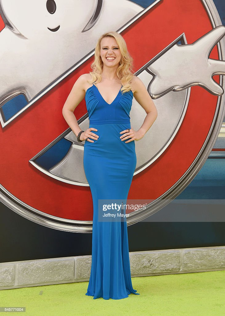 Actress Kate McKinnon arrives at the Premiere of Sony Pictures' 'Ghostbusters' at TCL Chinese Theatre on July 9, 2016 in Hollywood, California.