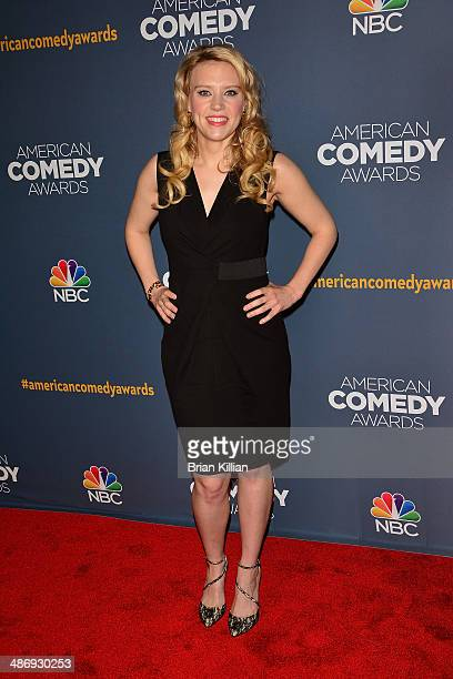 Actress Kate McKinnon attends the 2014 American Comedy Awards at Hammerstein Ballroom on April 26 2014 in New York City
