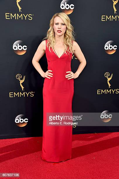 Actress Kate McKinnon attends the 68th Annual Primetime Emmy Awards at Microsoft Theater on September 18 2016 in Los Angeles California
