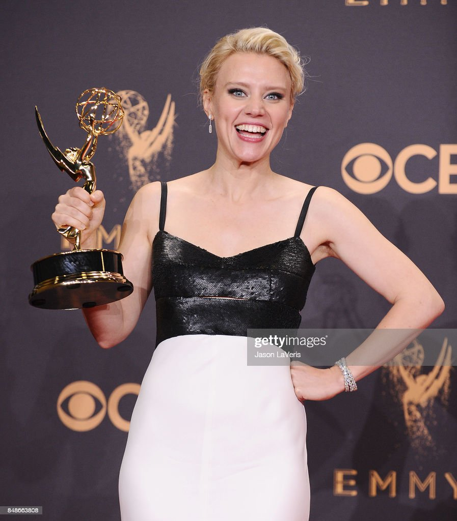 Actress Kate McKinnon attends the 69th annual Primetime Emmy Awards at Microsoft Theater on September 17, 2017 in Los Angeles, California.