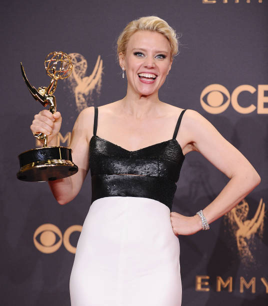 American comedian, voice-over lesbian actress Kate McKinnon on Primetime Emmy Awards