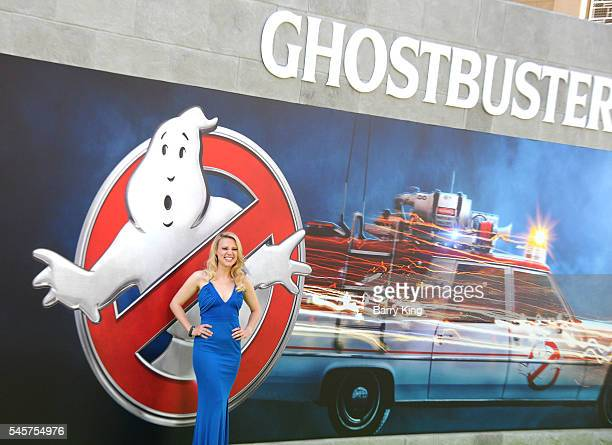 Actress Kate McKinnon attends the premiere of Sony Pictures' 'Ghostbusters' at TCL Chinese Theatre on July 9, 2016 in Hollywood, California.