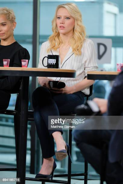 Actress Kate McKinnon discusses the new film 'Rough Night' at Build Studio on June 9, 2017 in New York City.