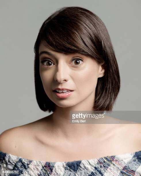 Actress Kate Micucci is photographed at the Sundance NEXT FEST at The Theatre At The Ace Hotel on August 13 2017 in Los Angeles California
