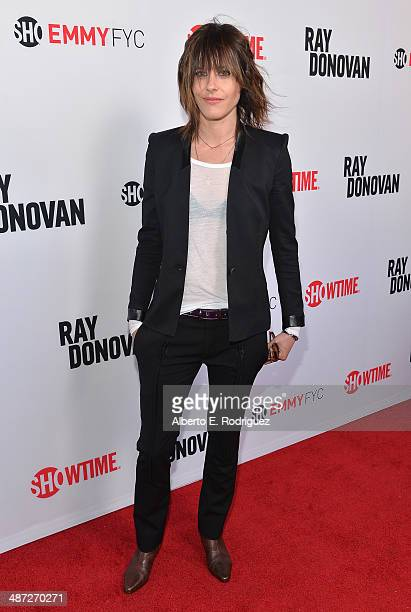 Actress Kate Moennig arrives to an exclusive conversation with the cast of Showtime's Ray Donovan at Leonard H Goldenson Theatre on April 28 2014 in...
