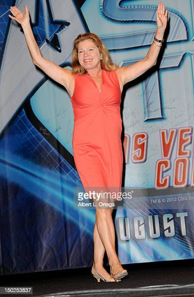Actress Kate Mulgrew attends day 4 of the 11th Annual Official Star Trek Convention at the Rio Hotel Casino on August 12 2012 in Las Vegas Nevada