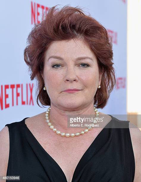 Actress Kate Mulgrew attends Netflix's Academy Panel Women Ruling TV at Leonard H Goldenson Theatre on June 5 2014 in North Hollywood California