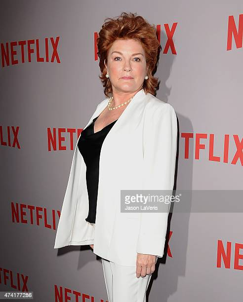 Actress Kate Mulgrew attends Netflix's 'Orange Is The New Black' For Your Consideration screening and QA at Directors Guild Of America on May 20 2015...