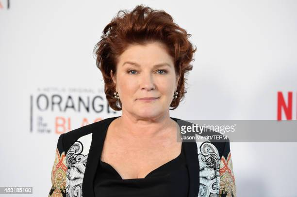 Actress Kate Mulgrew attends Netflix's 'Orange is the New Black' panel discussion at Directors Guild Of America on August 4 2014 in Los Angeles...