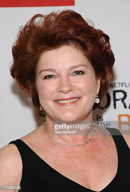 Actress Kate Mulgrew attends 'Orange Is The New Black' New York Premiere at The New York Botanical Garden on June 25 2013 in New York City