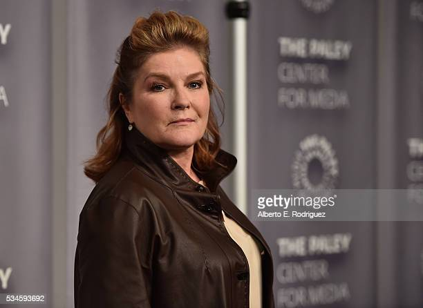 Actress Kate Mulgrew attends PaleyLive LA An Evening With 'Orange Is The New Black' at The Paley Center for Media on May 26 2016 in Beverly Hills...