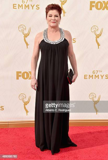 Actress Kate Mulgrew attends the 67th Emmy Awards at Microsoft Theater on September 20 2015 in Los Angeles California 25720_001