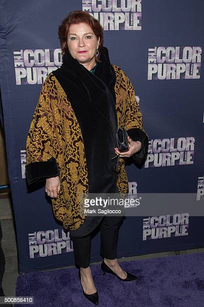 Actress Kate Mulgrew attends the The Color Purple Broadway Opening Night at The Bernard B Jacobs Theatre on December 10 2015 in New York City