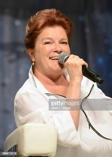 Actress Kate Mulgrew on day 4 of Creation Entertainment's Official Star Trek 50th Anniversary Convention at the Rio Hotel Casino on August 6 2016 in...