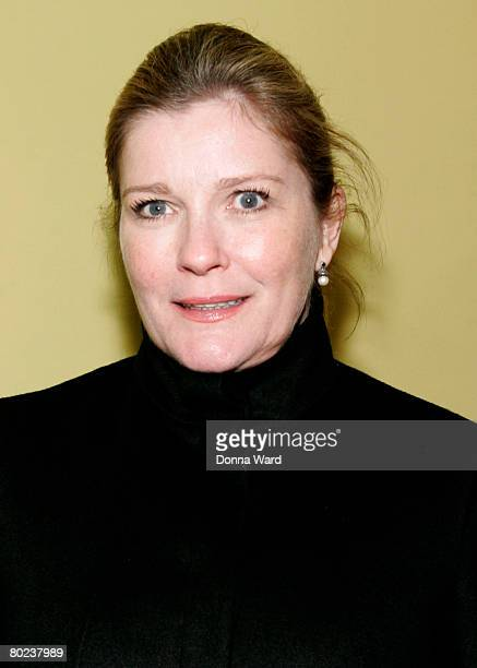 """Actress Kate Mulgrew poses before attending the after-party for """"The Seagull"""" at Pangea on March 13, 2008 in New York City."""