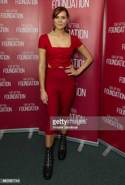 Actress Kate Nash attends SAGAFTRA Foundation Conversations screening of 'GLOW' at SAGAFTRA Foundation Screening Room on November 29 2017 in Los...