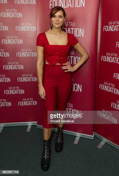 Actress Kate Nash attends SAGAFTRA Foundation Conversations screening of GLOW at SAGAFTRA Foundation Screening Room on November 29 2017 in Los...
