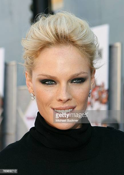 Actress Kate Nauta arrives at the premiere of Walt Disney Picture's The Game Plan at the El Capitan Theatre on September 23 2007 in Hollywood...