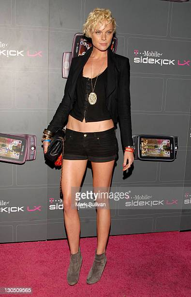 Actress Kate Nauta arrives at the TMobile Sidekick LX Launch held at Paramount Studios on May 14 2009 in Hollywood California