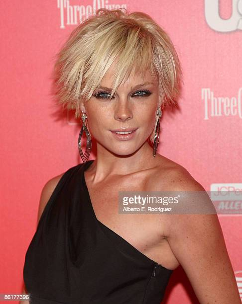 Actress Kate Nauta arrives at the Us Weekly Hot Hollywood Party held at My House nightclub on April 22 2009 in Hollywood California