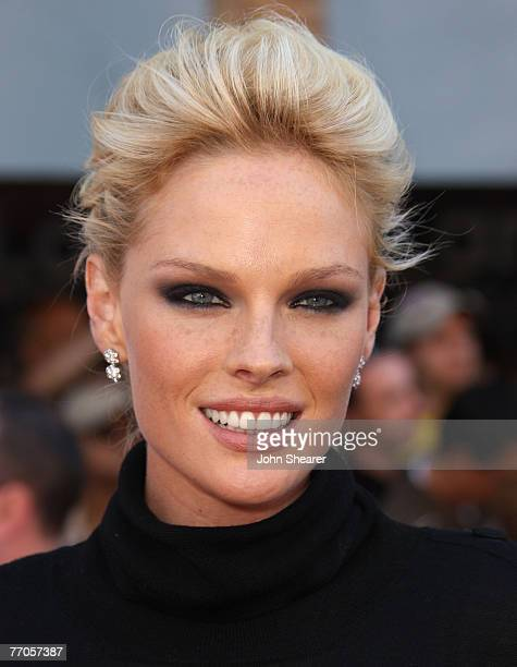 Actress Kate Nauta arrives at the world premiere of The Game Plan at the El Capitan Theatre on September 23 2007 in Hollywood California